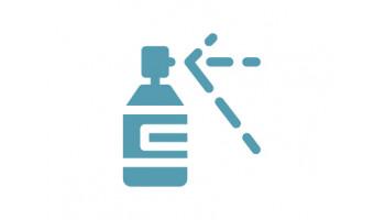 Spray nettoyant d'appareil auditif